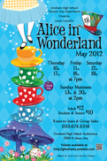 Alice in Wonderland, GHS, Gresham High School Drama