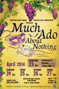 Much Ado About Nothing, GHS, Gresham High School Drama