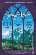 Sound of Music, GHS, Gresham High School Drama